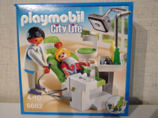 Playmobil City Life 6662 Dentist - NIP