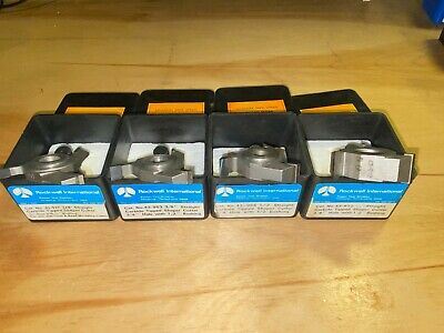 Set Off 4 Straight Slot Shaper Cutter Rockwell 14 38 12 34 Japan Made