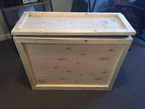 Wooden padded crate (was used to transport iMac) Burleigh Heads Gold Coast South Preview