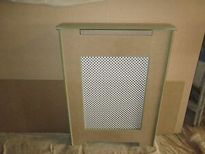 Mdf radiator cover/cabinet Diamond Grille Design,made to measure