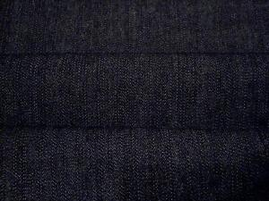Heavy Denim fabric Dark Indigo - New - Off the roll