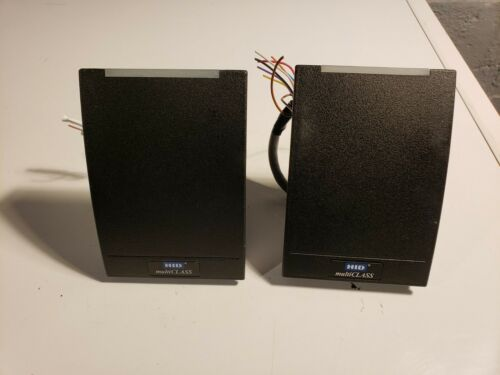 2 Preowned HID Multiclass RP40 Proximity Card Reader for Access Control