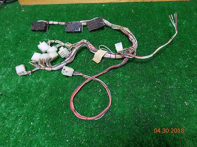 Ge Mastr Ii Master Uhf Vhf Radio Back Plane Repeater Wiring Harness Bs-3