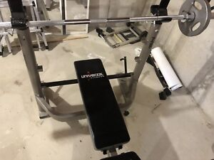 Olympic Bench workout station