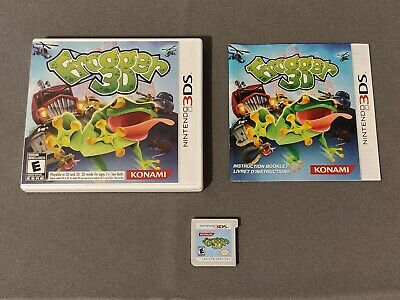 Frogger 3D --Complete (Nintendo 3DS) -Tested