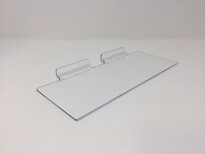 Clear Slatwall Shelves 4 X 10 Set Of 4 Retail Display