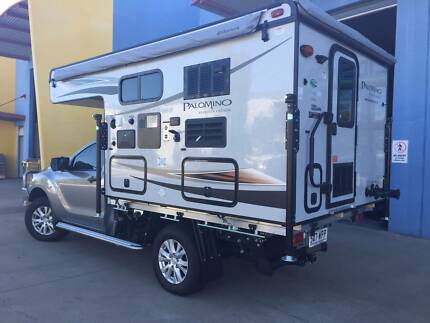 NEW 2017 SLIDE ON CAMPER -  PALOMINO SS1251 TOILET / TWIN SHOWER