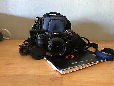 SONY A100 DIGITAL CAMERA-SONY 18-70 MACRO LENS-BATTERY-CHARGER-MANUAL-CASE Sony Digital Camera Manual