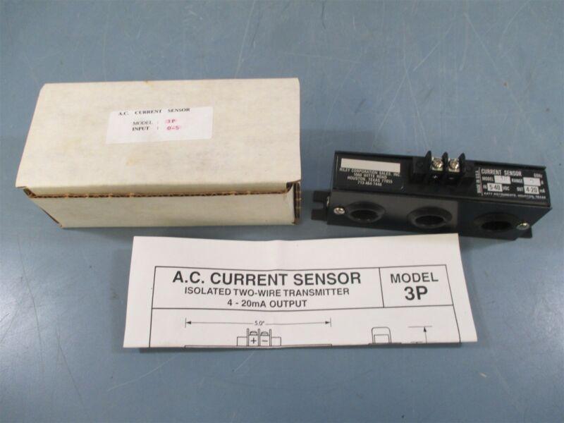 Katy 3P 5A 5-40VDC 4-20mA Current Sensor - New