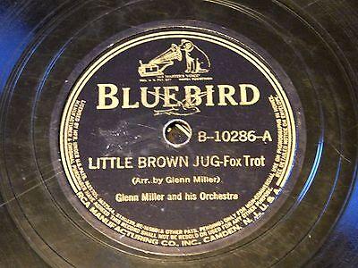 Glenn Miller - Jazz Blue Bird 78 RPM - Little Brown Jug / Pavanne
