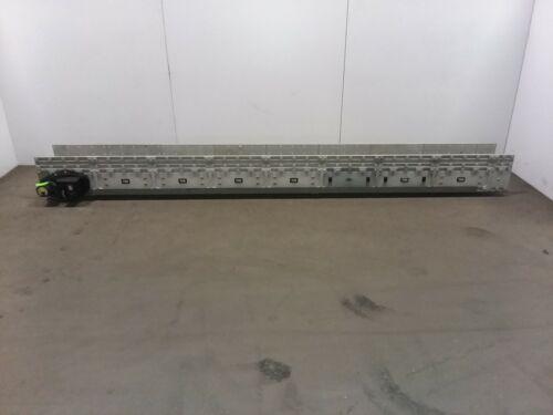 "Dyna-Con 143""L Modular Conveyor 12"" W Plastic Belt Variable Speed 115v"