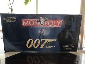 Monopoly 007 James Bond BRAND NEW FACTORY SEALED!!!