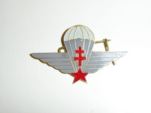 b2386 WW 2 Free French Parachute Wings Airborne beer can style IR3A113