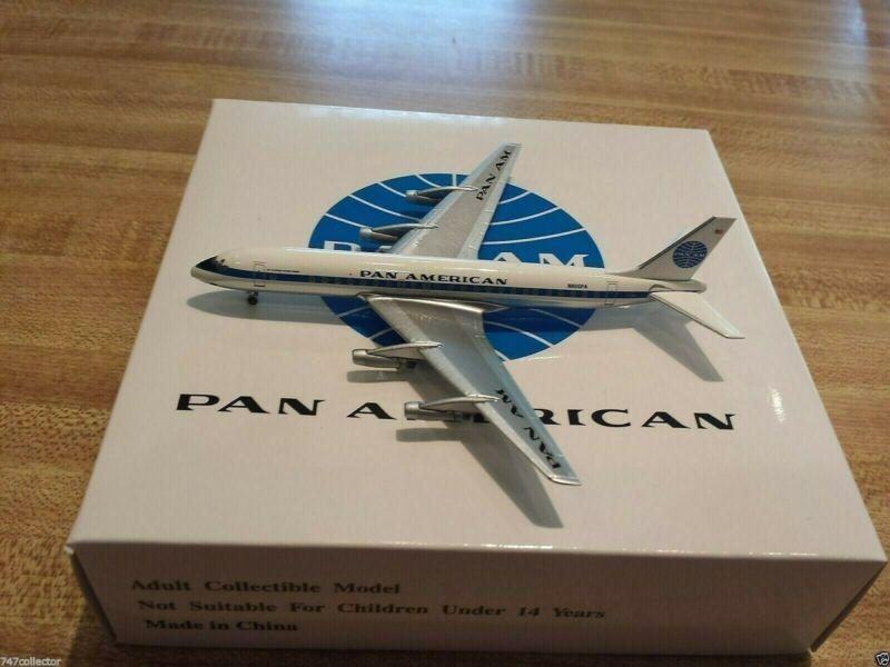 Pan Am Models Pan American World Airways DC-8-32 1:400 ACN800PA 1960 Cols N800PA