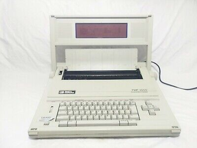 Smith Corona Typewriterword Processor Pwp 3000