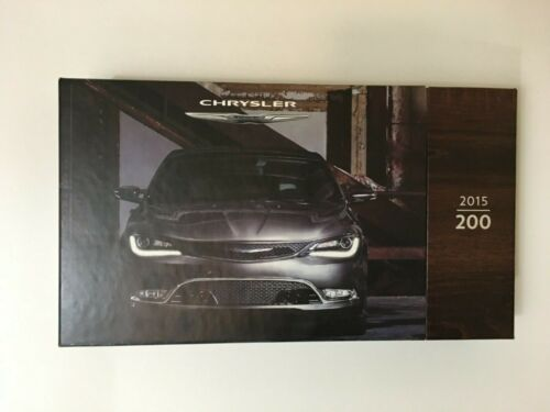 Chrysler 200 car press kit