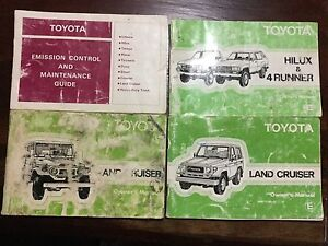 Toyota Workshop and Service Manuals Ballarat Central Ballarat City Preview