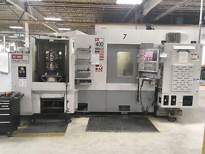 Haas Ec400pp  Used Cnc Horizontal Machining Center