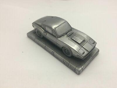 Sweden Classic car Sab Sonett 3 1.43 Scale Pewter Effect Model Car