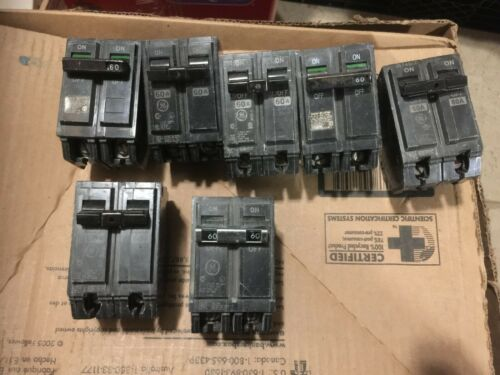 GE  GENERAL ELECTRIC THQB2160  BOLT ON CIRCUIT BREAKERS