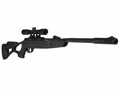 Hatsan AirTact QE Air Rifle .25 cal w/ Optima 4x32 Scope & Rings - HCAirTact25ED