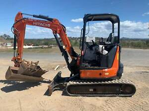 Excavator Hitachi ZX33 U-5A Glanmire Gympie Area Preview