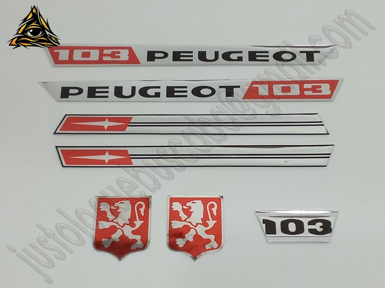 Autocollant stickers mobylette Peugeot 103 NL