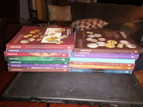 Superior Galleries  Coin Auctions Catalogs 2006 - 2009:  Lot of 19