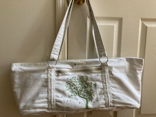 Gaiam Embroidered Tree Of Life Yoga Mat Tote Shoulder Bag FREE SHIPPING