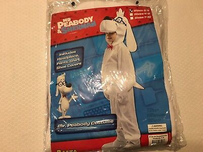 Brand New Official Licensed Mr Peabody Toddler Costume 3-4t (Mr T Costumes)