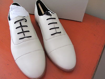 Kate Spade Saturday - Leather Oxfords - Size 8 - Snow - NEW