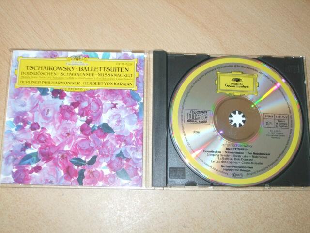 Tschaikowsky - Ballet Suites - Berlin Philharmonic Herbert Von Karajan (CD) Mint