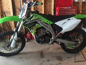 2008 Kx450f 1 hour on new motor!!