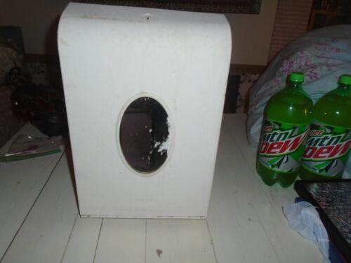 Vintage Single Fold paper Towel Holder Dispenser HIBROC