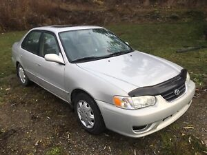 2002 Toyota Corolla *Low Km's*