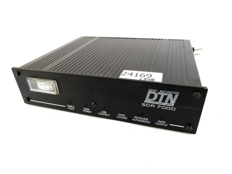 Data Transmission Network SDR 7000 Signal Level Monitor