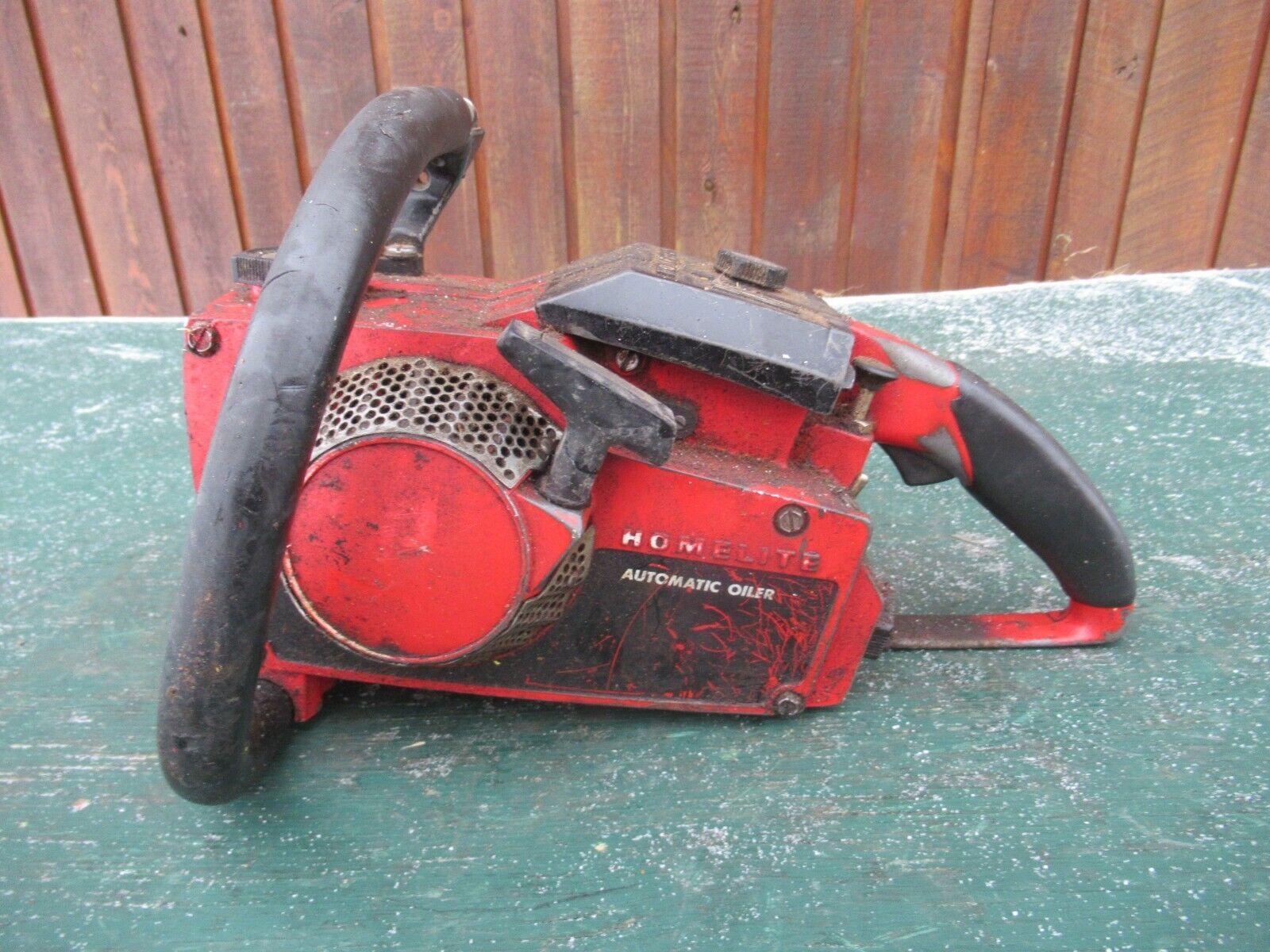 Vintage HOMELITE Chainsaw Chain Saw - $49.99