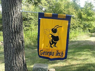 Georgia Tech House Flag (GEORGIA TECH UNIVERSITY House Flag, Imprinted By Evergreen)