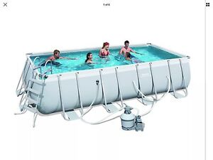 Bestway Above Ground Swimming Pool Botany Botany Bay Area Preview