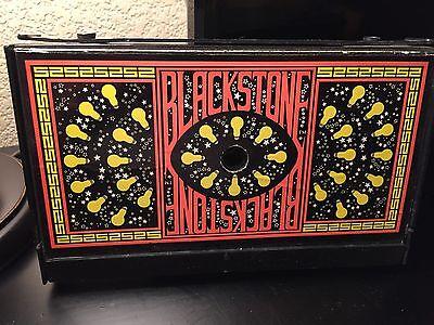 Vintage 1988 Blackstone Traveling Magic Show Pressman Magic Kit Harry Blackstone
