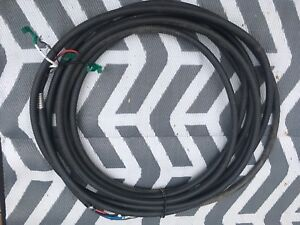 60 Feet of 1000 Volt Armoured Cable 3 Conductor/1 Ground
