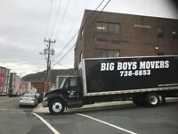 BIG BOYS MOVERS...Your Professional movers!!