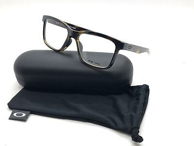 Oakley Fenceline 8069 0253 Polished Tortoise Eyeglass Frames Case 53 18 138