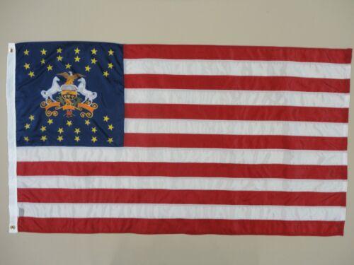 Pennsylvania Regimental U.S. Outdoor Historical Dyed Nylon Flag Grommets 3