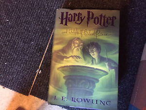 Harry Potter and the half blood Prince hard cover