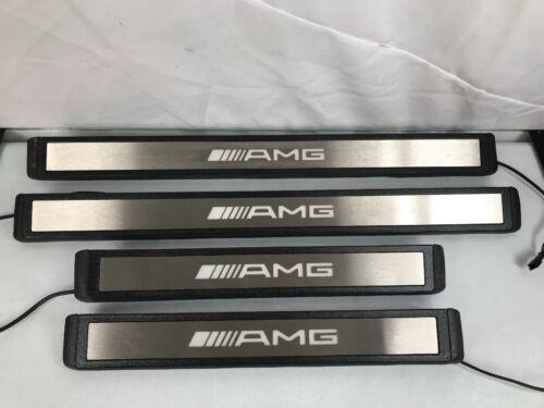 Mercedes Benz AMG Light Door Trim Scuff Plate Guard OME Original 2116801535
