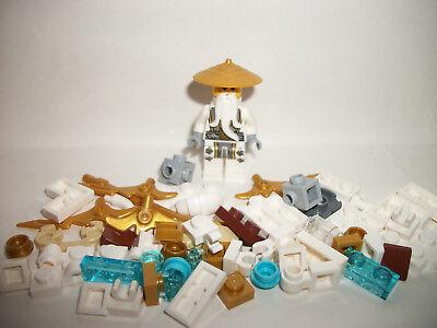 Lego Figure Minifigure Ninjago Ninja Sensei Wu Pcs Lot Gift Toy AUTHENTIC LEGO®
