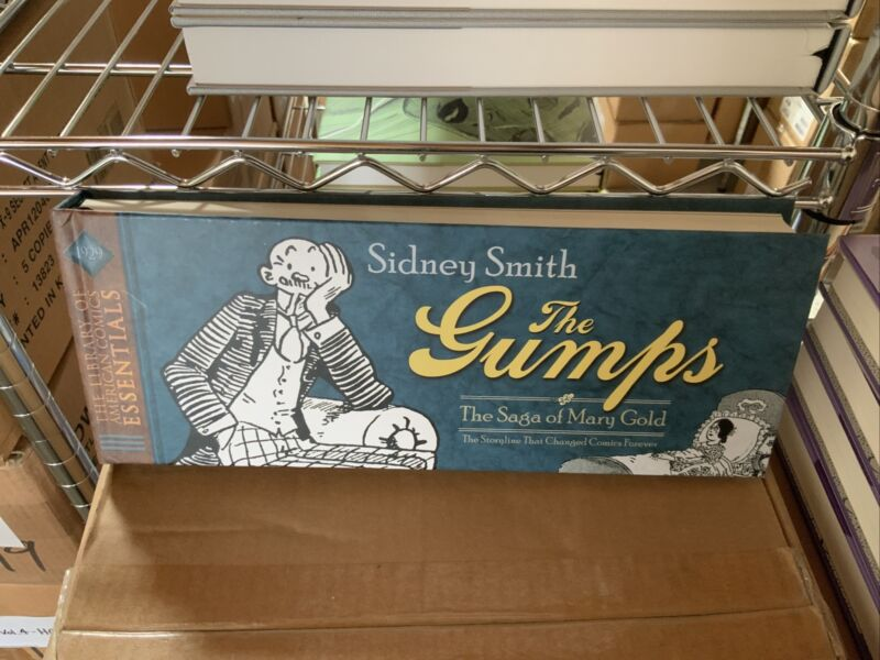 LOAC ESSENTIALS V. 2: THE GUMPS: 1929: SAGA MARY GOLD: BRAND NEW HARDCOVER
