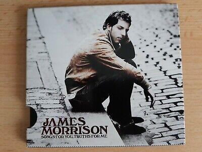 JAMES MORRISON - Songs for you truths for me     -CD-, usado comprar usado  Enviando para Brazil