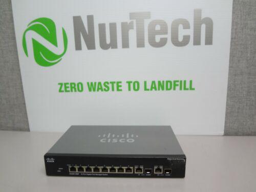 Cisco Sg300-10mp 10-port Gigabit Poe Managed Ethernet Switch (no Power Supply)